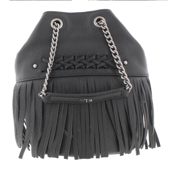 Ralph Lauren Bags   Black Leather Bucket Crossbody Bag   Poshmark f037d49fd0